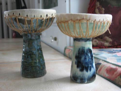 Ceramic doumbeks