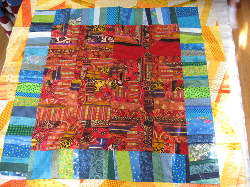 Free form Chronicle Quilt