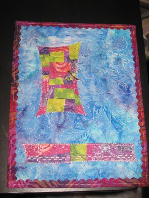 January Journal Quilt: Door to Creativity