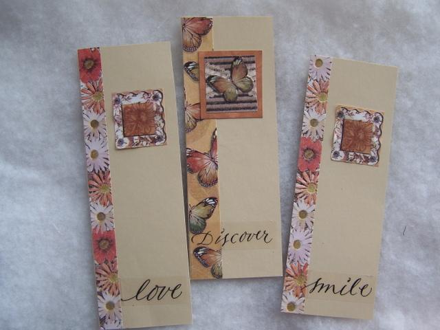 Paper Crafts Scrapbooking Bookmarks Set 2
