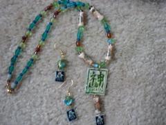 Shrinky Jewelry set