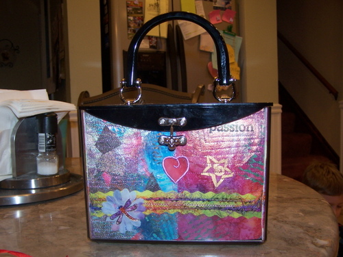 Z Becky Brown purse- full view