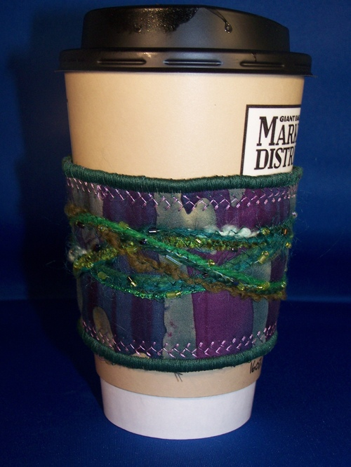 Quilted Coffee Cuff
