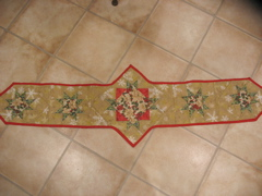 Holly's Quilted Runner